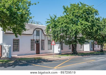 Historical Buildings In Stellenbosch