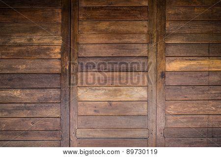 Wood Barn Door Texture Background