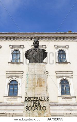 Decebal The King Of Dacia