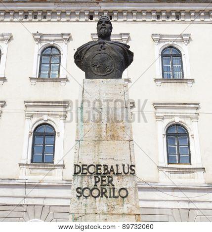 Timisoara Statue Of Decebal