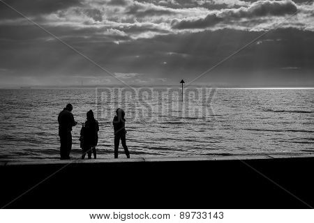 Family by the Sea
