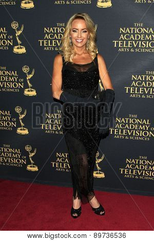 LOS ANGELES - APR 24: Rachel Reenstra at The 42nd Daytime Creative Arts Emmy Awards Gala at the Universal Hilton Hotel on April 24, 2015 in Los Angeles, California