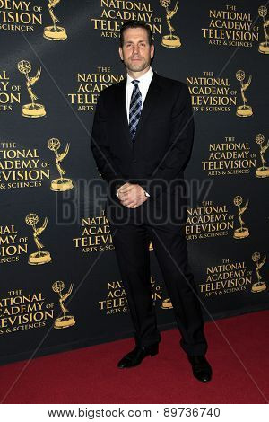 LOS ANGELES - APR 24: Frank Valentini at The 42nd Daytime Creative Arts Emmy Awards Gala at the Universal Hilton Hotel on April 24, 2015 in Los Angeles, California