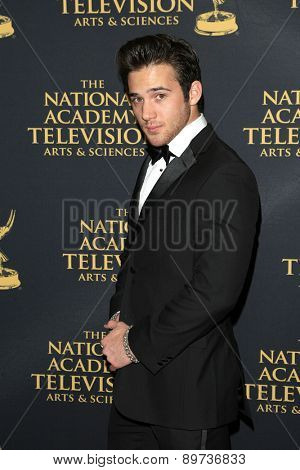 LOS ANGELES - APR 24: Casey Moss at The 42nd Daytime Creative Arts Emmy Awards Gala at the Universal Hilton Hotel on April 24, 2015 in Los Angeles, California