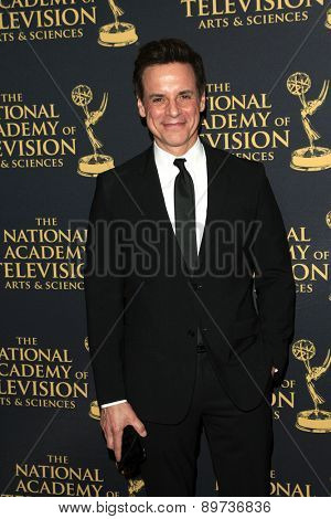 LOS ANGELES - APR 24: Christian LeBlanc at The 42nd Daytime Creative Arts Emmy Awards Gala at the Universal Hilton Hotel on April 24, 2015 in Los Angeles, California