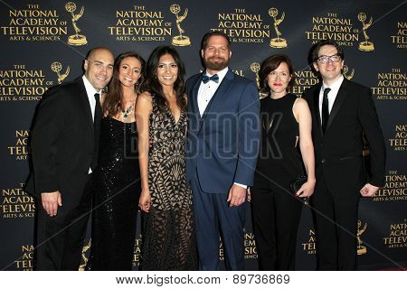 LOS ANGELES - APR 24: Jason Kolowski, Tumble Leaf at The 42nd Daytime Creative Arts Emmy Awards Gala at the Universal Hilton Hotel on April 24, 2015 in Los Angeles, California