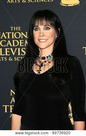 LOS ANGELES - APR 24: Connie Selleca at The 42nd Daytime Creative Arts Emmy Awards Gala at the Universal Hilton Hotel on April 24, 2015 in Los Angeles, California