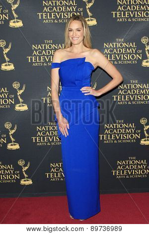 LOS ANGELES - APR 24: Ashlan Gorse at The 42nd Daytime Creative Arts Emmy Awards Gala at the Universal Hilton Hotel on April 24, 2015 in Los Angeles, California