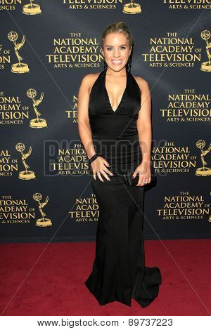 LOS ANGELES - APR 24: Kristen Alderson at The 42nd Daytime Creative Arts Emmy Awards Gala at the Universal Hilton Hotel on April 24, 2015 in Los Angeles, California