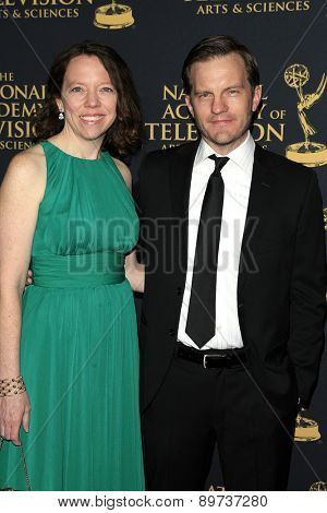 LOS ANGELES - APR 24: Mike Houston at The 42nd Daytime Creative Arts Emmy Awards Gala at the Universal Hilton Hotel on April 24, 2015 in Los Angeles, California