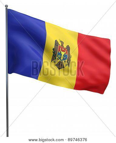 Moldova Flag Image