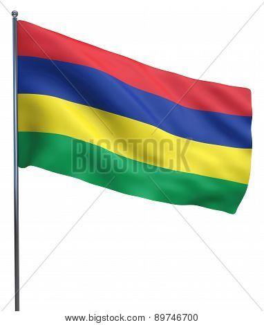 Mauritius Flag Image
