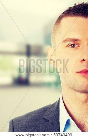 Confident formal business man portrait