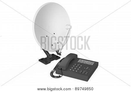 Satellite Communication Concept