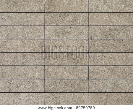 lines of rectangular tiles, close up seamless