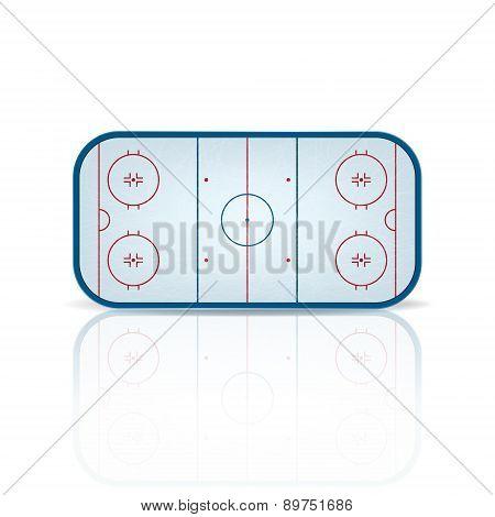 Ice Hockey Field.