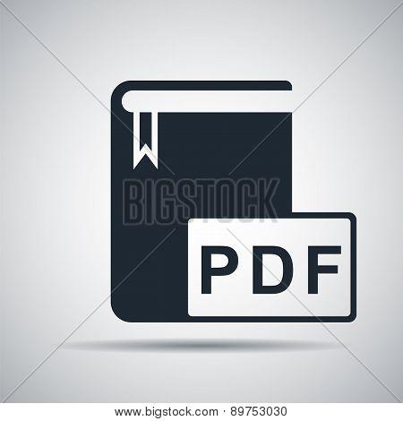 Book Format Pdf Icon