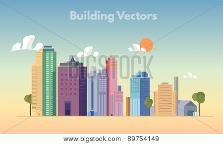 Building vector color
