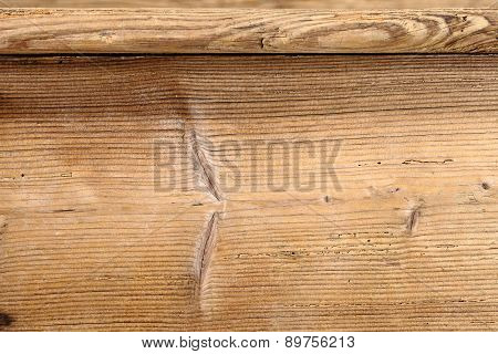 old antique brown wooden tables, close up