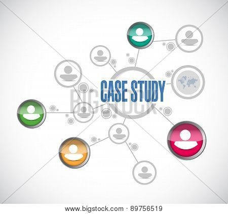 Case Study People Diagram Sign Concept