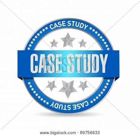 Case Study Seal Sign Concept