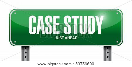 Case Study Post Sign Concept