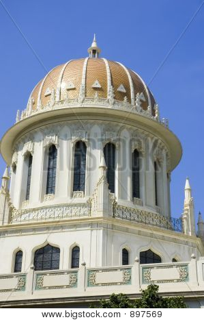 Baha'I Temple In Haifa