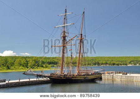 Topsail Schooner HMS Tecumseth