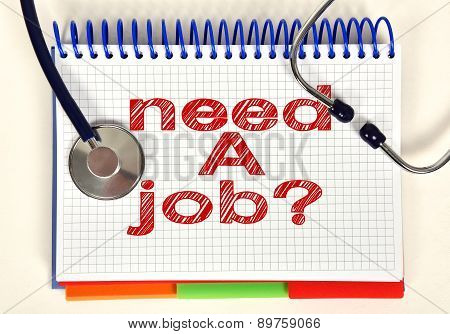 Book With Need A Job