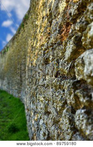 Wall In Akkerman Fortress