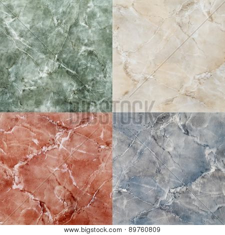 high quality colored marble tile composition, close up seamless