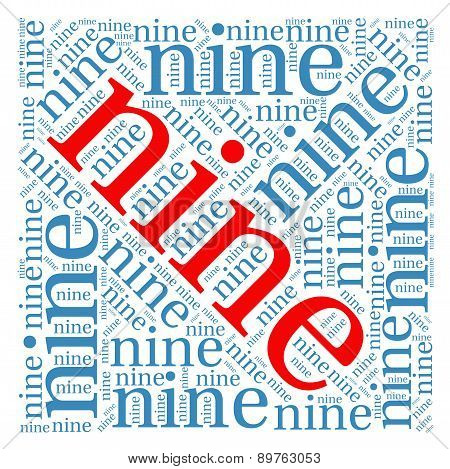 Nine Word Cloud