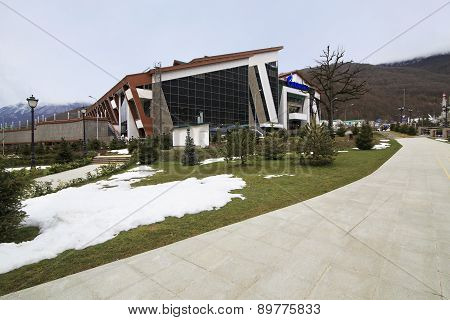 Socio-cultural center Galaktika in Grand Hotel Polyana Resort