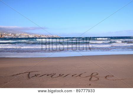 Word Written on the Sand