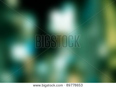 Colorful Gaussian Blur Of Gradient Abstract Background