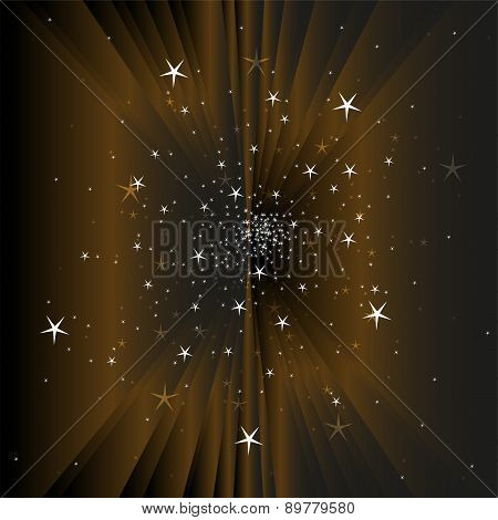Magic staron dark background