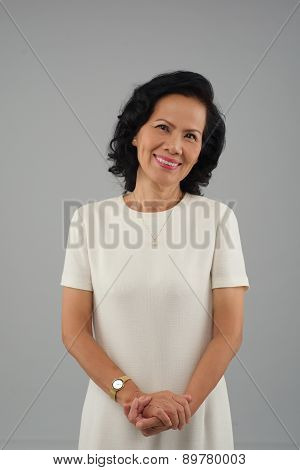 Elegant Vietnamese Woman