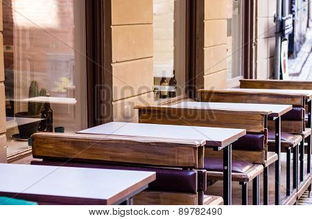 Cafe With Tables