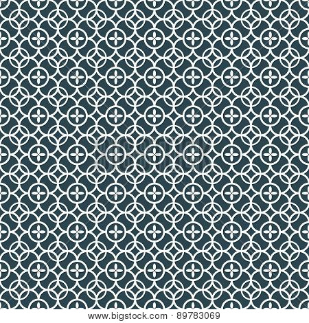 Ornamental oriental pattern