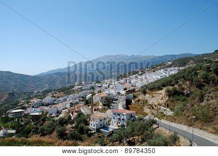 White town, Competa.