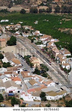Railway station, Alora.