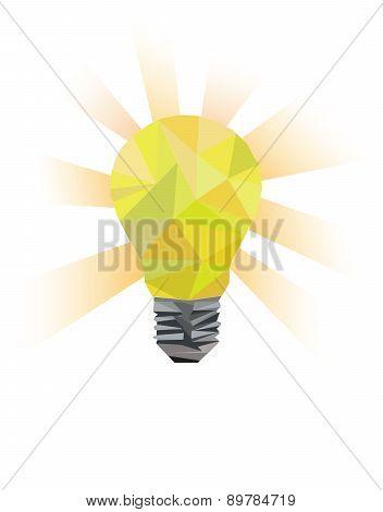 Vector idea symbol