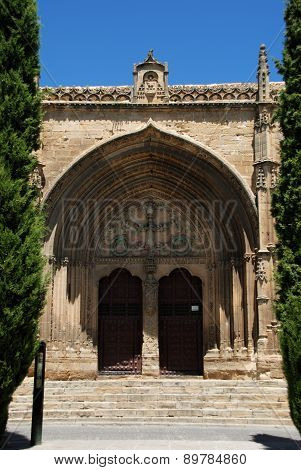 Church entrance, Ubeda.
