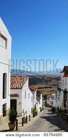 Village street, Jimena de la Frontera.