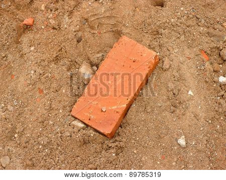 One Brick On Sand