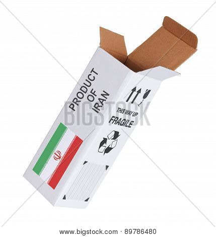Concept Of Export - Product Of Iran