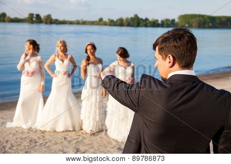 Groom Picking A Bride