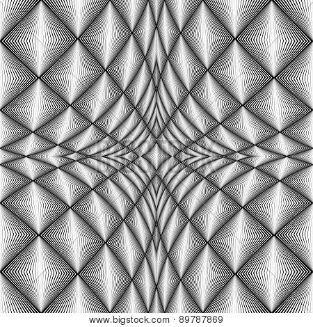 Design Diamond Concave Texture