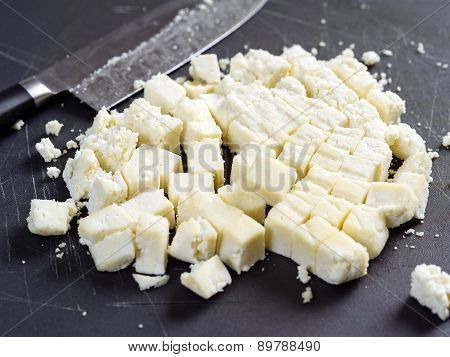 Chunks Of Paneer Cheese