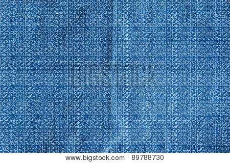 Carbon Blue Paper Texture And Background